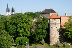 Cheb, Δημοκρατία της Τσεχίας στοκ εικόνες