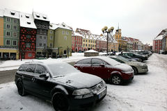 cheb χειμώνας Στοκ εικόνα με δικαίωμα ελεύθερης χρήσης