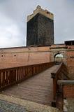 Cheb, Czech republic. Castle in city Cheb in western Bohemia, Czech republic stock image