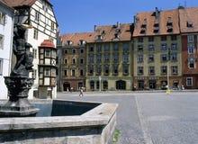Cheb, Tsjechische Republiek stock afbeeldingen