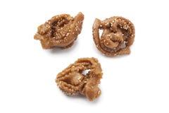Chebakia, Moroccan honey cookies Royalty Free Stock Photos