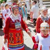 Cheboksari, Rusia - 24 de junio de 2015: El día de la república de C Foto de archivo