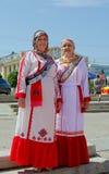 Cheboksari, Rusia - 24 de junio de 2015: El día de la república de C Fotografía de archivo libre de regalías
