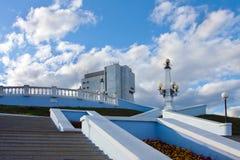 Cheboksary πόλη, Ρωσία στοκ εικόνες