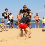Cheboksary, Ρωσία - 16 Ιουλίου 2016: ανοικτά πρωταθλήματα στον πάγκο Στοκ φωτογραφίες με δικαίωμα ελεύθερης χρήσης