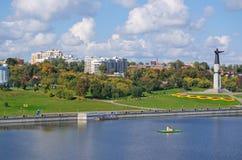 Cheboksary, Chuvashia, Russia, September. Royalty Free Stock Photo