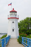 Cheboygan Crib Lighthouse, Michigan Royalty Free Stock Image