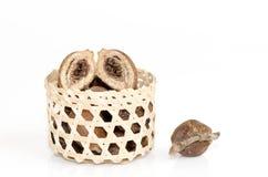 Chebulic Myrobalan, Myrolan Wood Stock Image