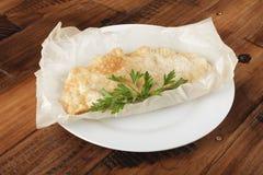 Cheburek с мясом Стоковое Изображение