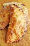 Cheburek fritto fotografie stock libere da diritti
