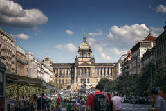 Chech National Museum in Prague Stock Images