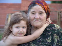 Chechen pair stock photo