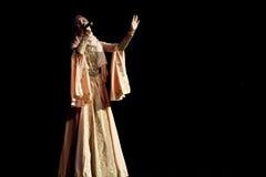 Chechen Singer Sagaipova Stock Image