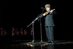 Chechen Singer Walid Dagaeve Stock Photography