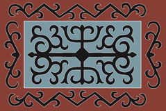 Chechen traditional ornament. Vector Illustration. Royalty Free Stock Image