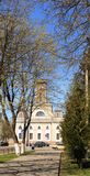 CHECHERSK BIAŁORUŚ, Maj, - 3, 2017: Drewniany urząd miasta xviii wiek Obrazy Royalty Free