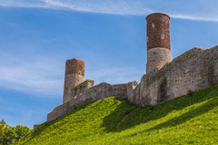 Checiny Castle, Poland Stock Image