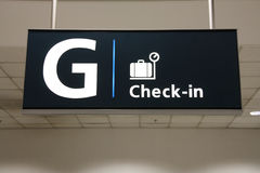 Check in Stock Photo