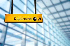 Check in, Airport Departure & Arrival information board sign. Check in, Airport Departure & Arrival information board sign at Heathrow London Royalty Free Stock Image