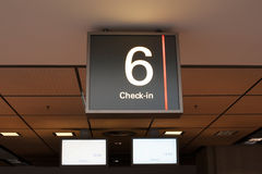 Check in Airport Royalty Free Stock Images