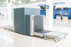 Check baggage at the airport Royalty Free Stock Image