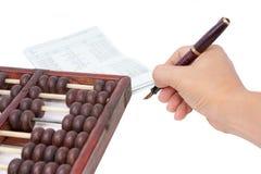 Check balance Stock Image