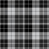 Check black grey fabric textil. Check black red plaid fabric pattern cloth traditional fashion checkered textile vector vintage style tartan abstract geometric royalty free illustration