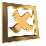 Check box Stock Image