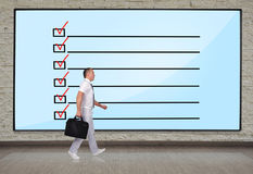 Check box Stock Images