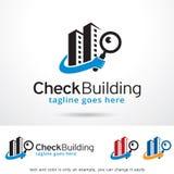 Check Building Logo Template Design Vector Stock Photo