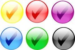 Check Button Stock Photography