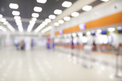 Check-in counters in airport Royalty Free Stock Photos