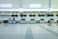 Check-in Counters Royalty Free Stock Photography