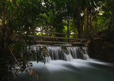 Check Dam,at khao yai ,thailand. Check Dam is the construction of the river. It usually blocks small streams of creeks in upstream areas or areas with high Royalty Free Stock Image