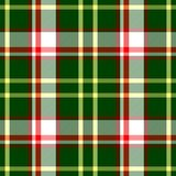 Check diamond tartan plaid fabric seamless texture background - green, red, white and yellow color. Check diamond tartan plaid fabric seamless pattern texture Royalty Free Stock Images