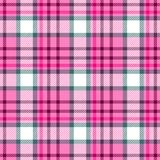 Check diamond tartan plaid fabric seamless texture background - pink color. Check diamond tartan plaid fabric seamless pattern texture background - pink color Stock Photography