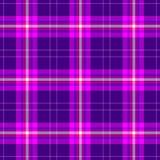 Check diamond tartan plaid scotch fabric seamless texture background - dark purple, hot pink, violet, magenta and white co. Check diamond tartan plaid scotch royalty free illustration