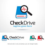 Check Drive Logo Template Design Vector Royalty Free Stock Images