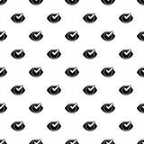 Check eye list pattern seamless vector royalty free illustration