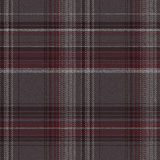 Check fabric. Textured striped linen check fabric background. design is seamless. Vector illustration Royalty Free Stock Images