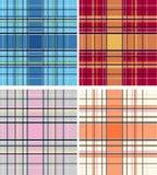 Check fabric pattern Stock Photography