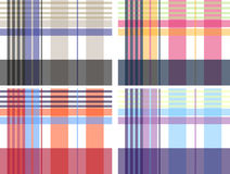 Check fabric pattern Royalty Free Stock Images