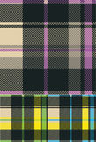 Check fabric pattern Royalty Free Stock Photos