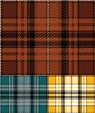 Check fabric pattern Stock Photos