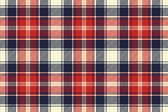 Check fabric texture diagonal lines seamless pattern. Vector illustration Royalty Free Stock Photo