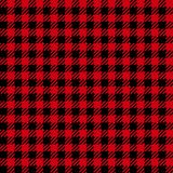 Check Fashion Seamless Pattern. Vector Vichy Repeat Background. Check fashion vichy red and black seamless pattern for fashion textile prints, wallpaper royalty free illustration