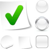Check  icon. Royalty Free Stock Image