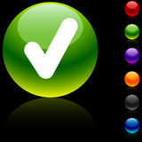 Check  icon. Stock Image