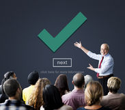 Check Icon Correct Element Next Concept Royalty Free Stock Images