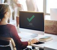 Check Icon Correct Element Next Concept stock photos